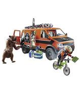 Playmobil Family Fun aventure en van