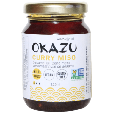 Abokichi OKAZU Curry Miso Sesame Oil Condiment