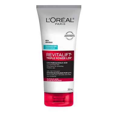 L\'Oreal Paris Revitalift Triple Power LZR Face Wash 3.5% Pure Glycolic Acid