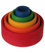 Grimm's Multi-Colour Stacking Bowls