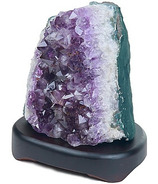 EcoIdeas Gem Stone Lamps Amethyst Cluster Lamp