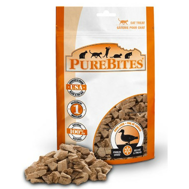 PureBites Freeze Dried Duck Liver Cat Treats