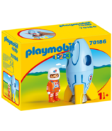 Playmobil 1.2.3. Astronaut with Rocket
