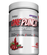 Fusion Bodybuilding One PunchPre-Workout Formula Cherry Blaster