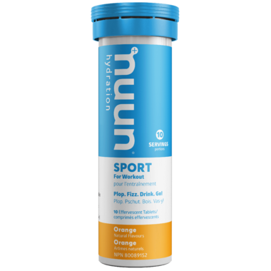 Nuun Hydration Sport Orange