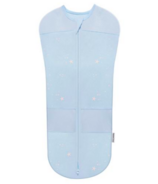 SNOO Organic Cotton Sleepea 5-Second Swaddle Blue with Stars