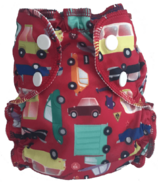 Applecheeks Washable Swim Diaper I Car