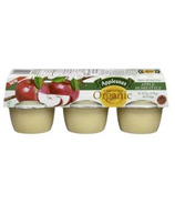 Applesnax Organic Homestyle Applesauce Cups