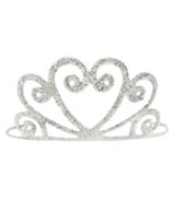 Great Pretenders Silver Glitter Tiara
