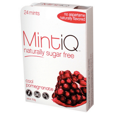 Mint iQ Cool Pomegranate Mints