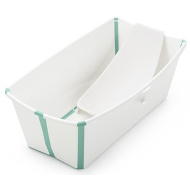 Stokke Flexi Bath Bundle White & Aqua
