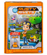Rusty Rivets Quick Bits Path Board Game with Crush Figure