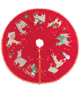 Now Designs Tree Skirt Fa La La La Llama