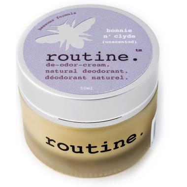 Routine De-Odor-Cream Natural Deodorant Unscented
