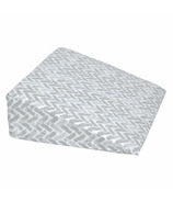 Perlimpinpin Pregnancy Wedge Pillow Grey Chevron
