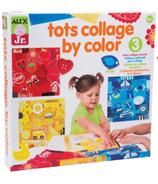 Alex Jr. Tots Collage By Colour