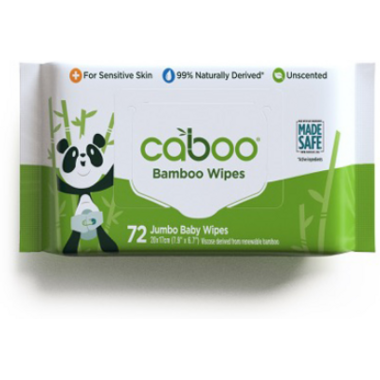 Caboo Bamboo Aloe Baby Wipes Unscented