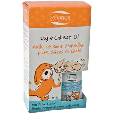 St. Francis Herb Farm Dog and Cat Ear Oil