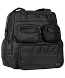 Lug Puddle Jumper Gym/Overnight Bag Midnight Black