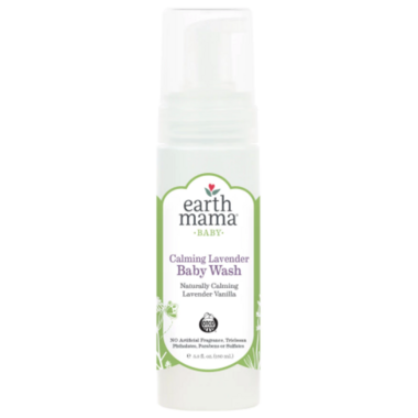Earth Mama Organics Baby Calming Lavender Wash