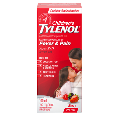 Tylenol Children\'s Fever & Pain Suspension Liquid