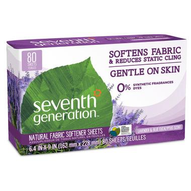 Seventh Generation Fabric Softener Sheets