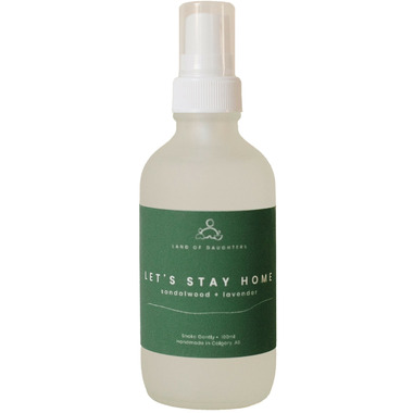 Land of Daughters Aroma Spray Let\'s Stay Home