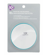 KIT Hand Held 10X Magnifying Mirror