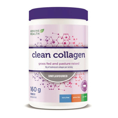 Genuine Health Clean Collagen Bovine Unflavoured