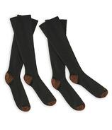 Tommie Copper Compression Socks Black L/XL