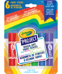 Crayola Project Quick-Dry Paint Sticks 6 Count