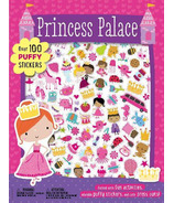 Make Believe Ideas Princess Palace Puffy Sticker Activity Book