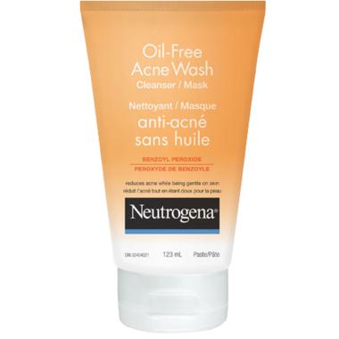 Neutrogena Oil-Free Acne Wash Cleanser & Mask