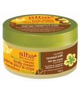 Alba Botanica Natural Hawaiian Body Cream