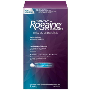 Rogaine for Women Hair Regrowth Treatment Foam
