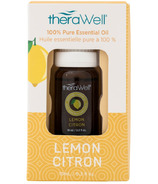 Therawell 100% Pure Lemon Essential Oil