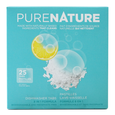 Purenature Eco-Friendly Dishwasher Tabs