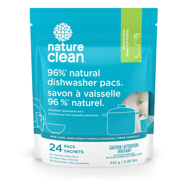 Nature Clean Automatic Dishwasher Pacs