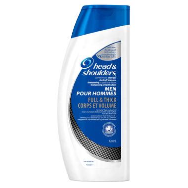Head & Shoulders Men Full & Thick Dandruff Shampoo