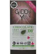 Giddy Yoyo Organic Chocolate Bar Mint Hundo