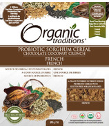 Organic Traditions Probiotic Cereal Chocolate Coconut