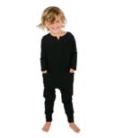 Smash + Tess The Mini Monday Kids Romper Midnight Black