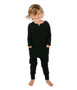 Smash + Tess The Mini Monday Kids Romper Midnight Black