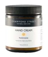 Crawford Street Skin Care Hand Cream Frankincense