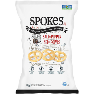 Spokes Snacks Salt & Pepper