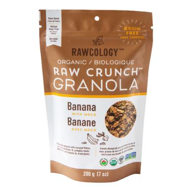 Rawcology Banana Raw Crunch Granola