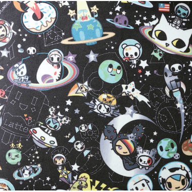 Clek x tokidoki Olli Backless Booster tokidoki Space Place