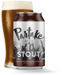 Partake Brewing Stout Nonalcoholic Craft Beer