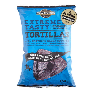 Neal Brothers Organic Blue Tortilla Chips