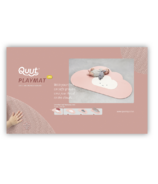 QUUT Head in the Clouds Small Playmat Blush Rose